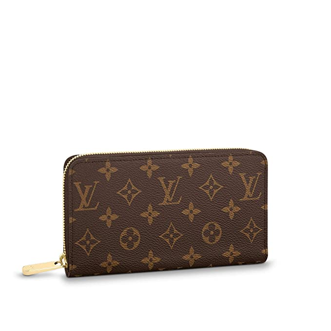 Amazon.com: Louis Vuitton Zippy Monedero de lona, talla ...