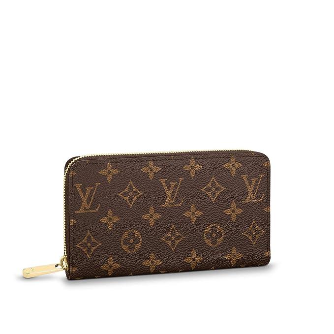 Amazon.com: Louis Vuitton Zippy Monedero de lona, talla ...