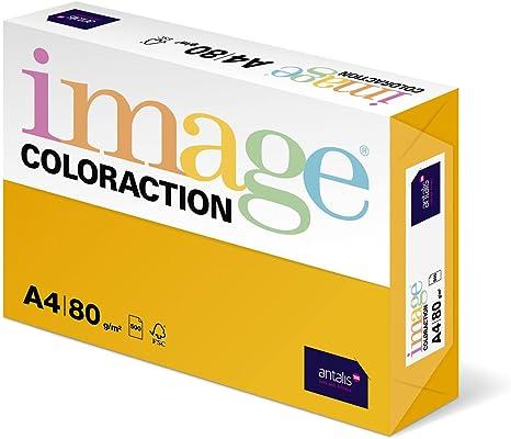 Antalis ColorActio - Papel de impresora (500 hojas, 80 g, A4, para ...
