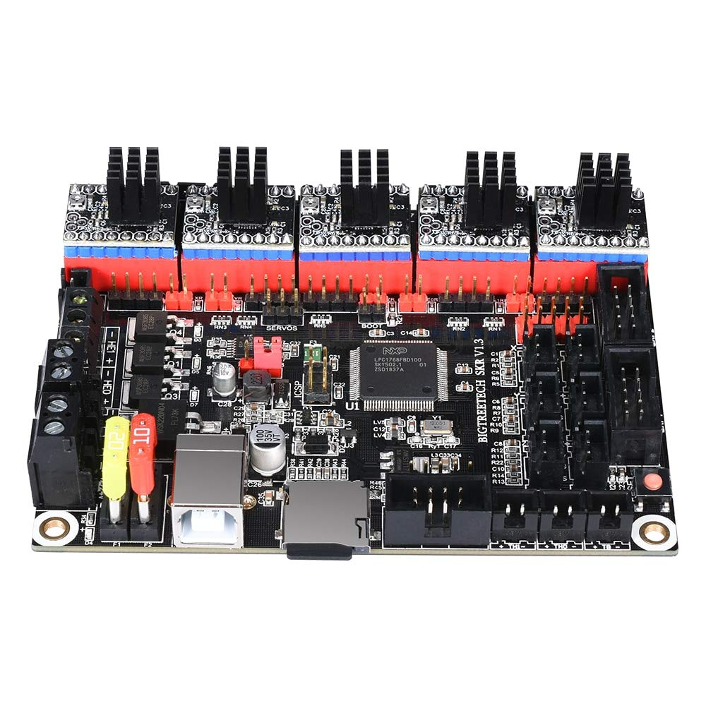 Zamtac SKR V1.3 3D Printer Controller Board ARM 32 Bit Mainboard TMC2208 Compatible Smoothieboard Marlin 3D Printer - (Size: with TMC2100 x5) by GIMAX (Image #3)