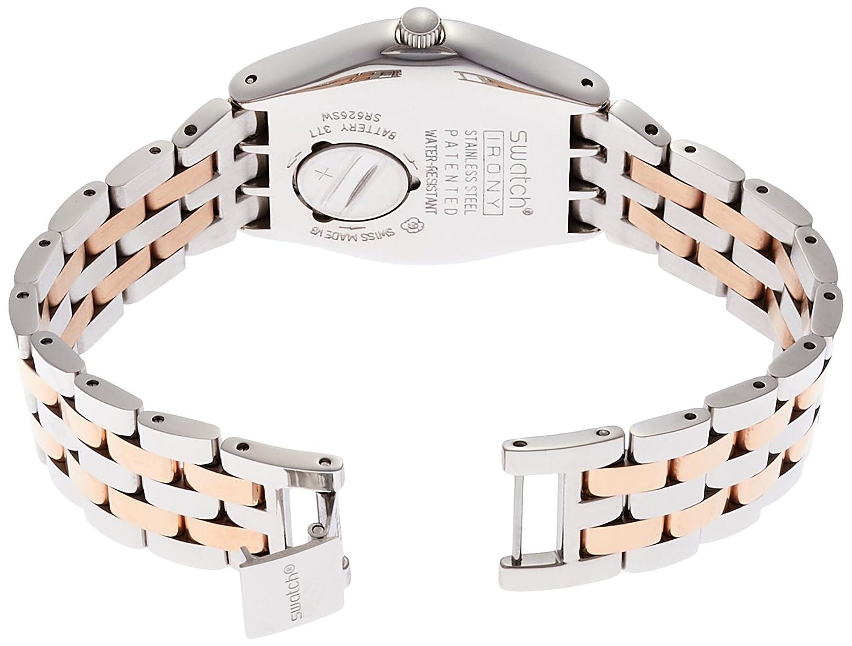 Analog Edelstahl Armband Damen Swatch Quarz Yls454gAmazon Uhr Mit w0N8OXPnk