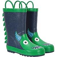 Mountain Warehouse Botas de Lluvia Character Junior para niños - Impermeables, Tipo Wellington de Comodidad Adicional…