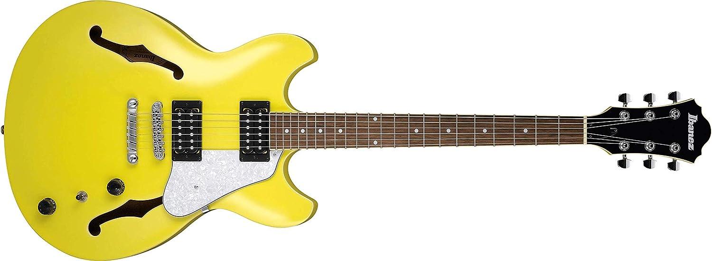 Ibanez AS63 Artcore Vibrante Lemon Yellow - Guitarra semiacústica