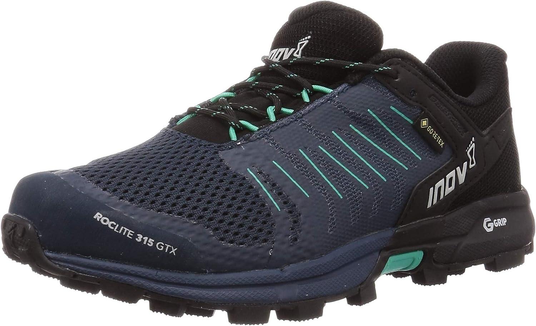 Inov-8 Womens Roclite 315 GTX - Waterproof Gore Tex Hiking Shoes - Lightweight - Vegan