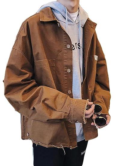 BSCOOLメンズ アウター 秋 ジャンパー ゆったり ジャケット ストリート 韓国ファッション スタジャン メンズ秋服