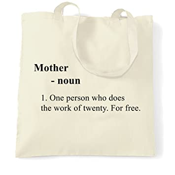 Madre divertida diccionario definición lema broma madre Mummy madre sustantivo una persona que hace el trabajo