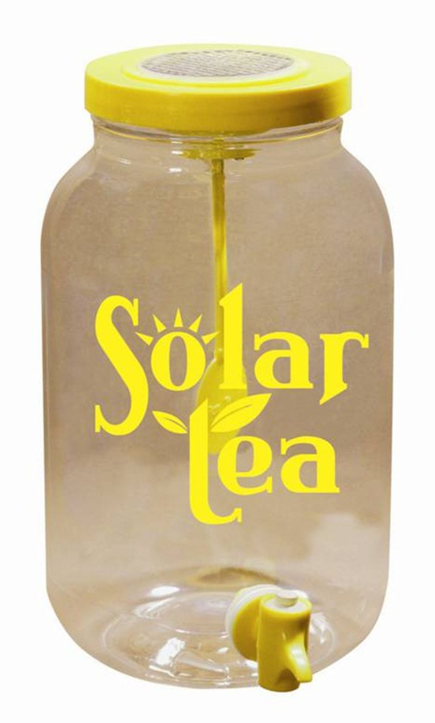 Solar Powered Sun Tea Jar-Plastic Jar