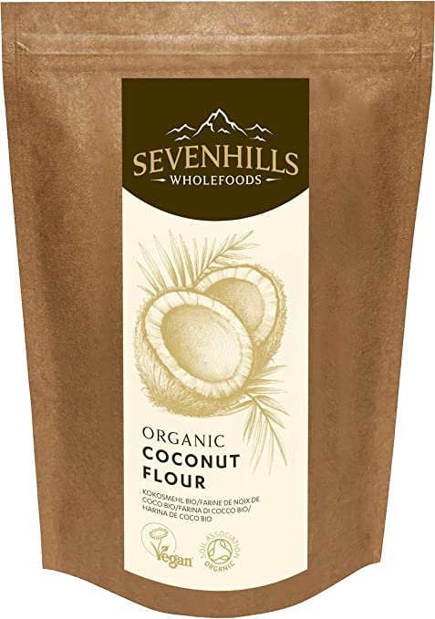 Sevenhills Wholefoods Harina De Coco Orgánico, Sin Gluten 1.5kg