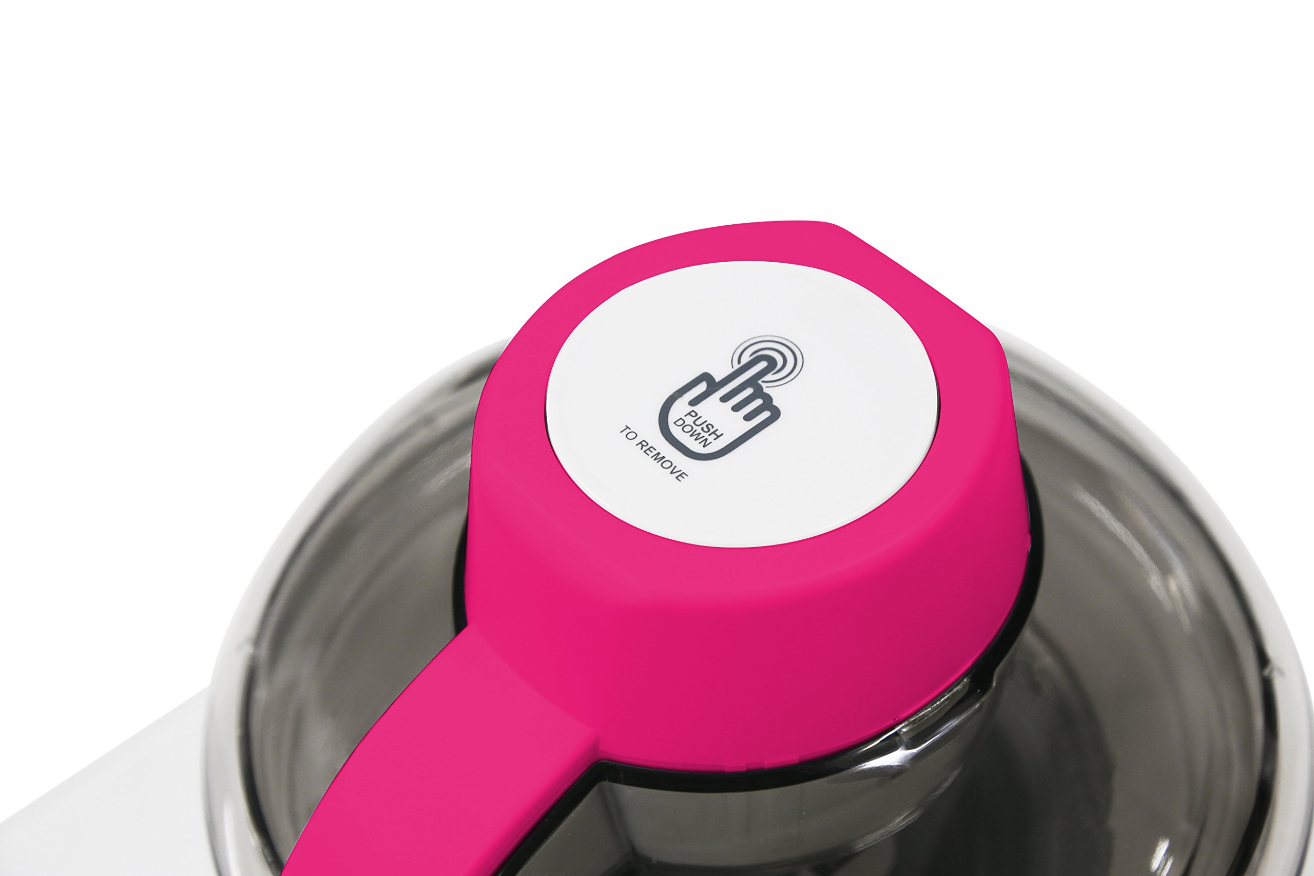 Mr. Freeze EIM-700BR Maxi-Matic 1.5 Pint Thermoelectric Ice Cream Maker, Berry by Mr. Freeze (Image #4)