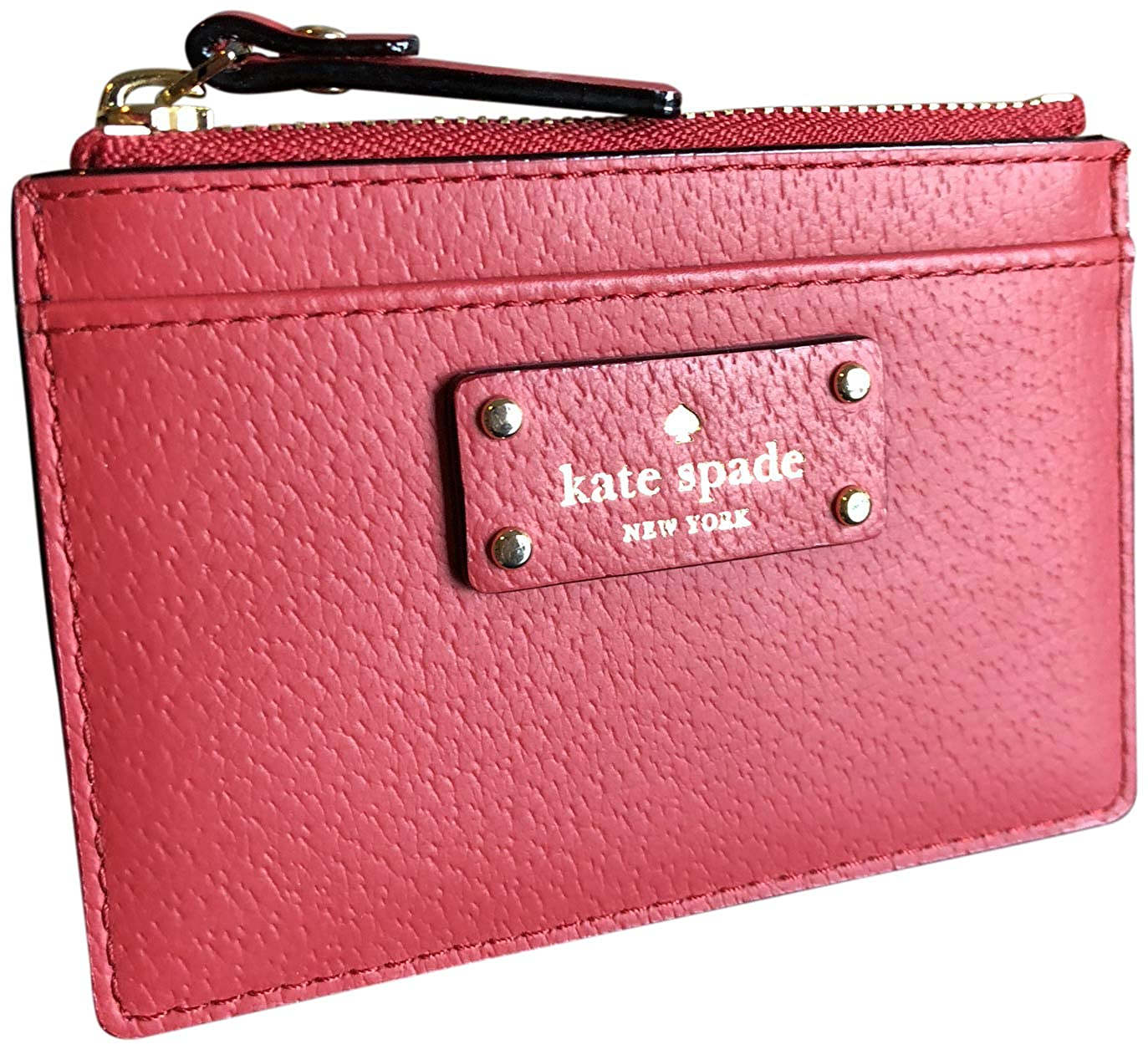 new arrival 08381 601bf Kate Spade Grove Street Adi Wallet Coin Purse Business Credit Card Holder  Case Red