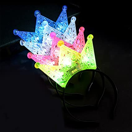 Image Unavailable. Image not available for. Color  Alician LED Light Up  Headbands 497c5138415f