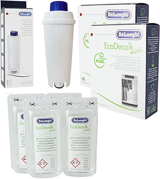 DeLonghi Eco Decalk Natural Cafetera Descalcificador Solución + ...