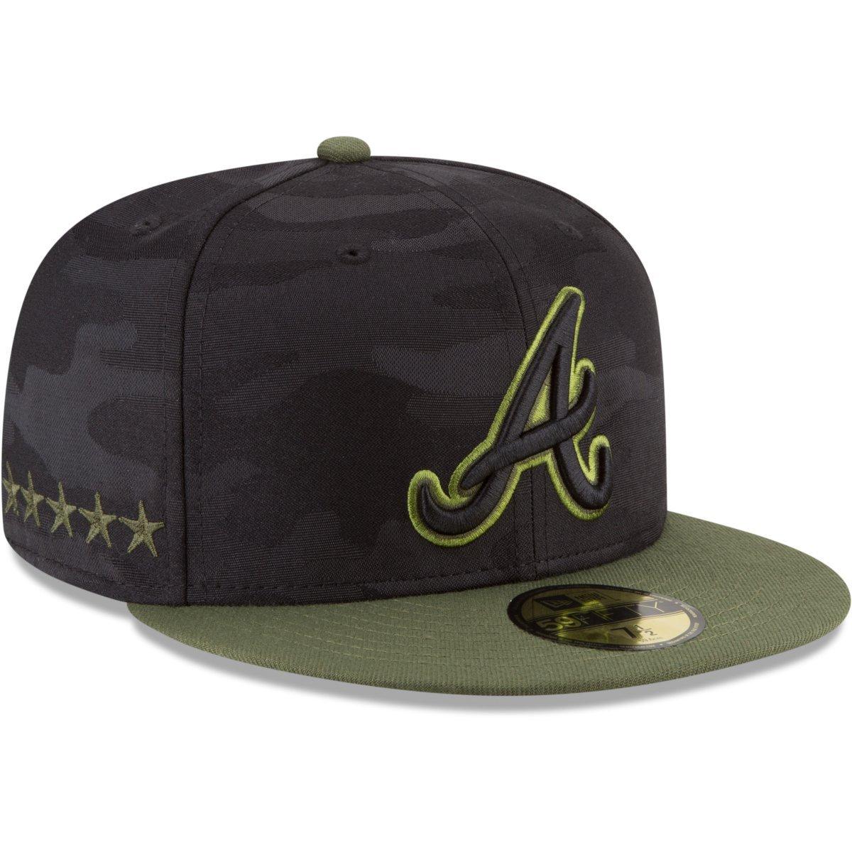 ac0b8662441936 Amazon.com: New Era 59Fifty Cap - MEMORIAL DAY Atlanta Braves: Clothing