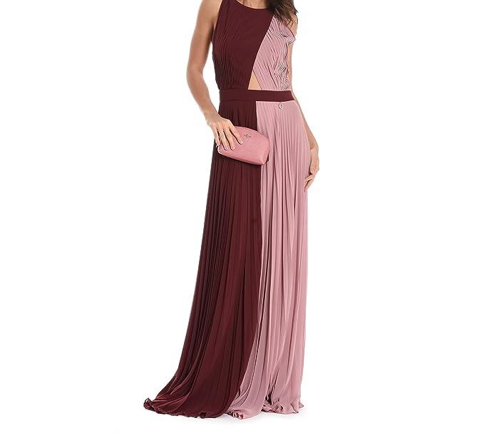 huge selection of 1e42d 1fa4f Mangano Vestito Donna Pmng001360392 Altri Materiali Bordeaux ...