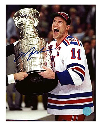 Image Unavailable. Image not available for. Color  Autographed Mark Messier  Photo - 1994 Stanley Cup ... 981008283