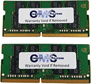 32GB (2X16GB) Memory Ram Compatible with MSI Notebook GS62 6QD Apache Pro, GS63 7RD Stealth, GS63 7RE Stealth Pro, by CMS c108