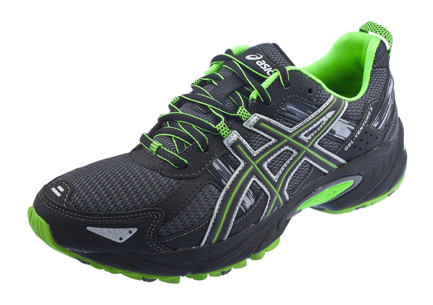 ASICS Men's GEL Venture 5 Running Shoe B06WD4ZPX7 10 D(M) US|Castle Rock/Black/Green