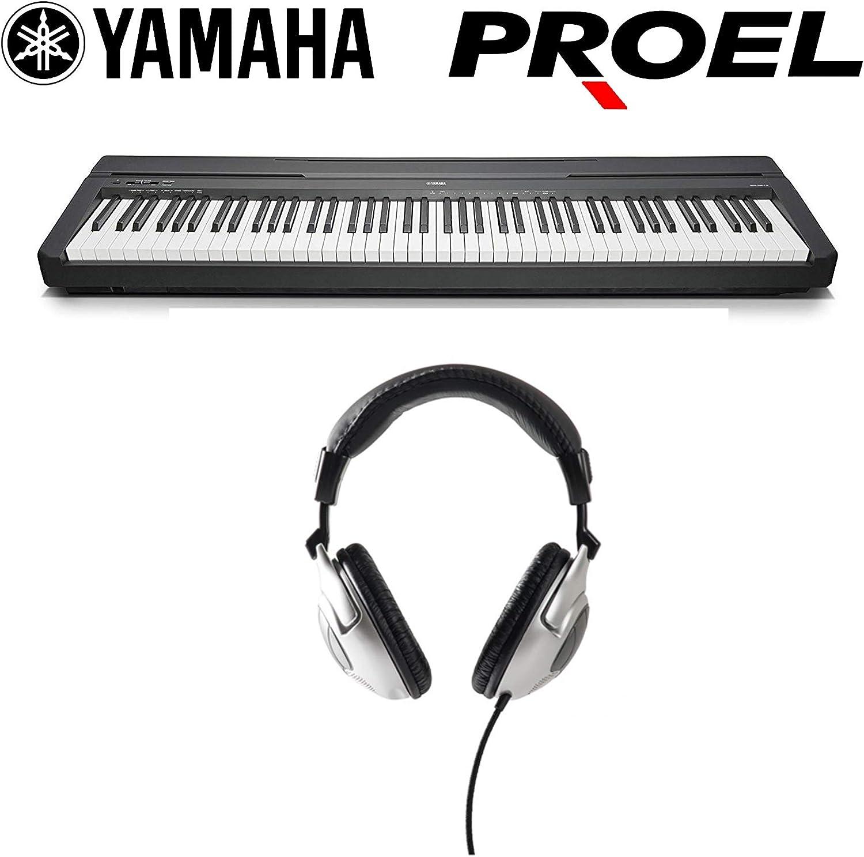 Yamaha P45B - Piano teclado profesional 88 teclas pesadas + ...