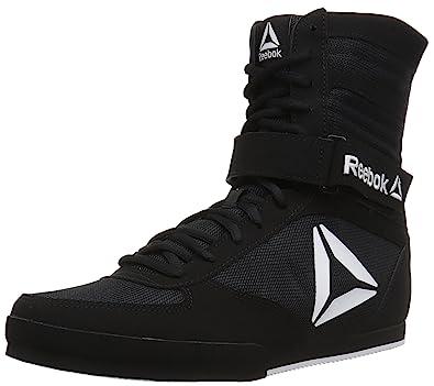 Reebok Women s Boot Boxing Shoe Black White 5.5 ... 4627d2249