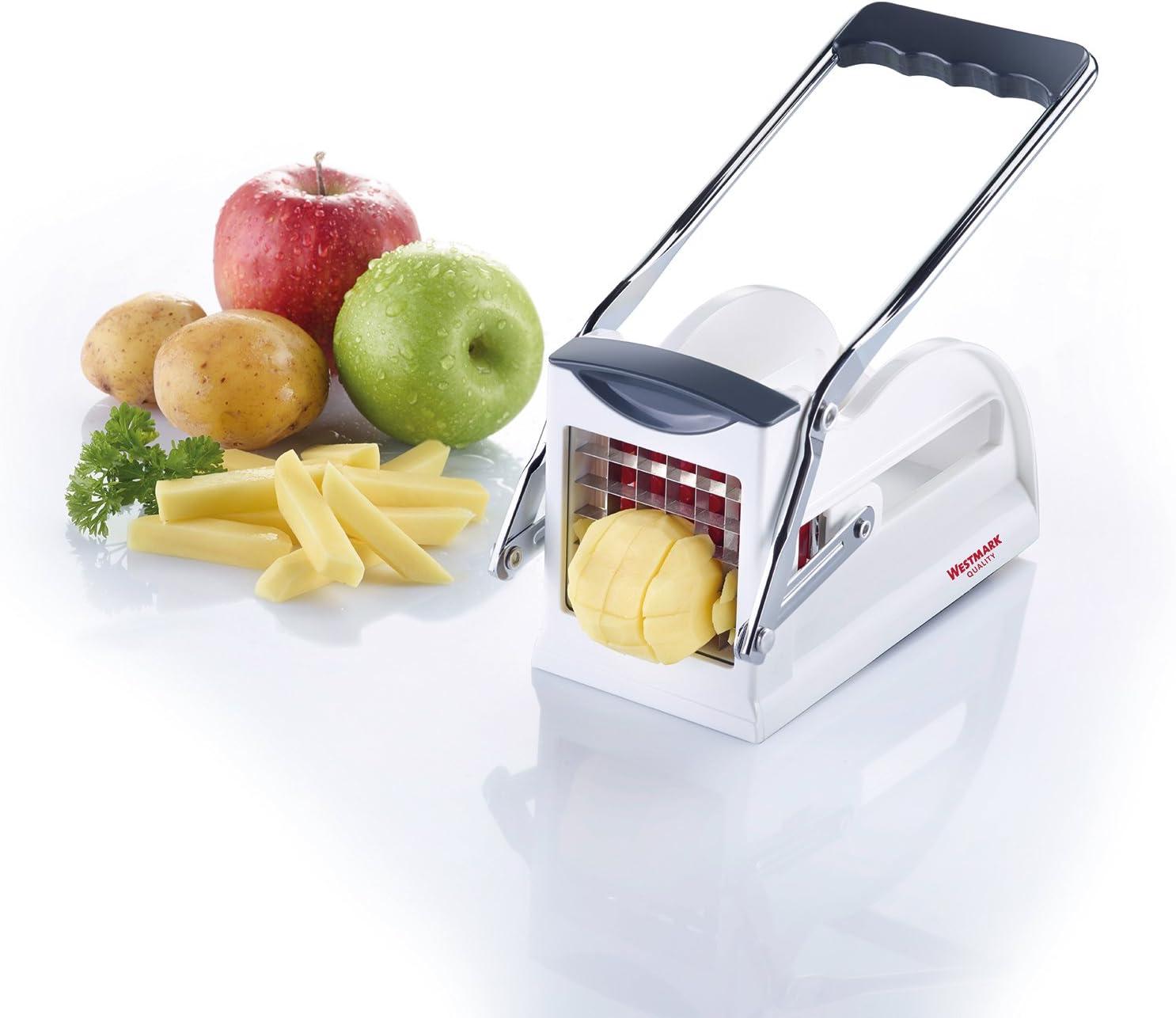 Westmark Potato and Vegatable Chipper//Slicer White