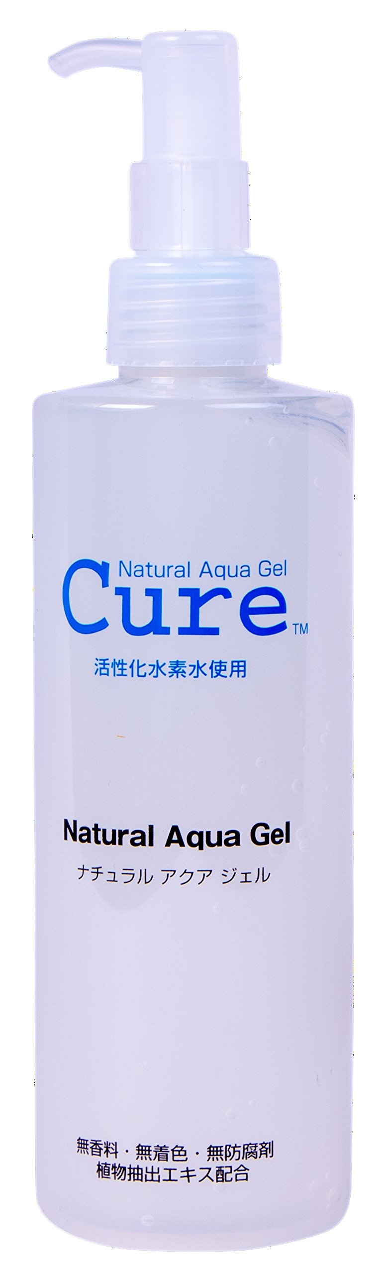 TOYO Cure Natural Aqua Gel - Hydrogen Activated Water Skin Exfoliator Suitable for All Skin Types (8.5 Ounce / 250 Milliliter)