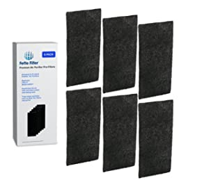 Fette Filter - Carbon Air Purifier Pre-Filters, Compatible with Holmes AOR31 Filter I