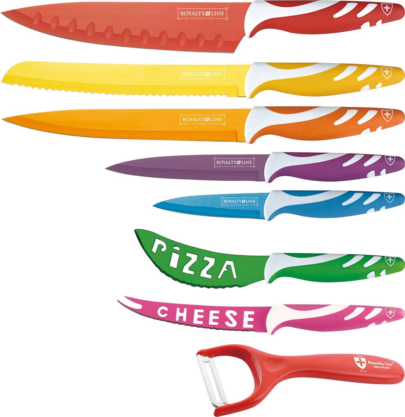 Compra Royalty Line Juego de 7 cuchillos con revestimiento ...