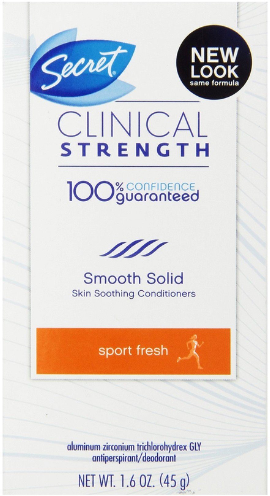 Sec Clncl Sld Frsh Martho Size 1.6z Secret Clinical Strength Marathon Fresh Scent Sport Antiperspirant Deodoran by Secret (Image #1)