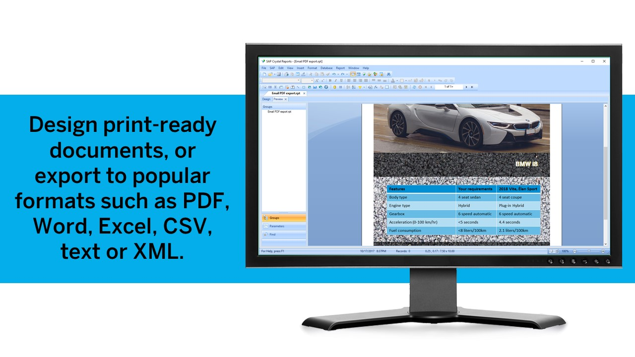 Crystal reports free version