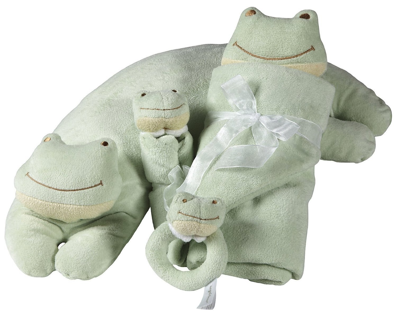 Angel Dear Cuddle Twin Set Green Froggy