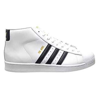 Adidas Pro Model Men's Shoes White/Core Black/White s85956 (7.5 D(