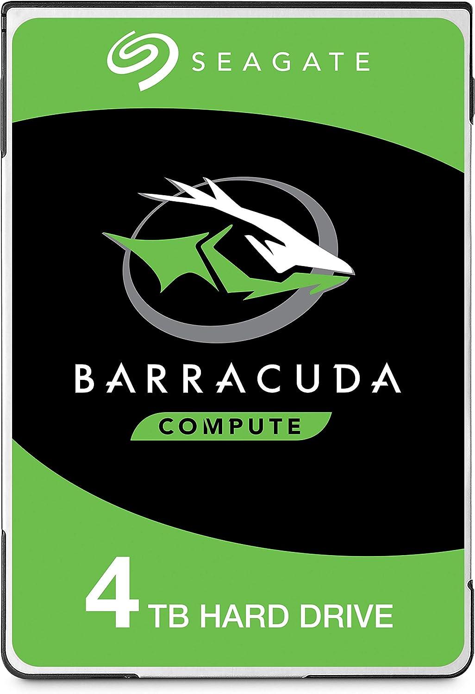 Seagate BarraCuda, 4TB, Unidad de disco duro interna, HDD, 2,5 in ...