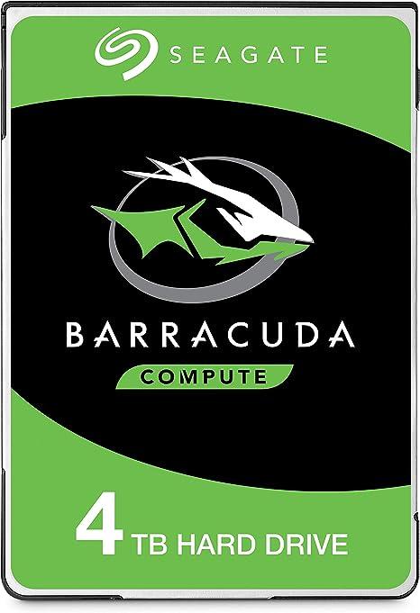 Seagate BarraCuda, 4TB, Unidad de disco duro interna, HDD, 2.5 in ...