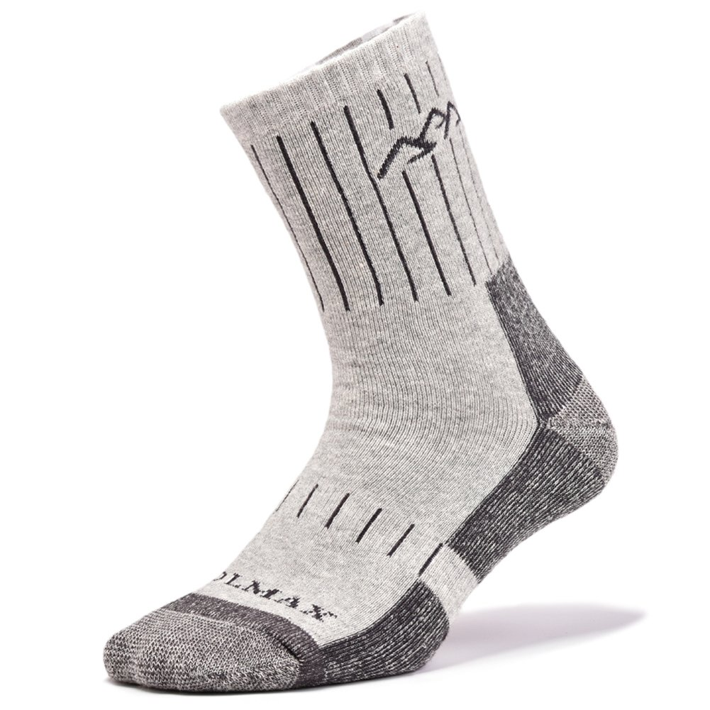 SUDILO Crew Cushion Hiking Trekking Socks,Coolmax Multi Performance Antiskid Wicking Outdoor Athletic Socks by SUDILO (Image #1)