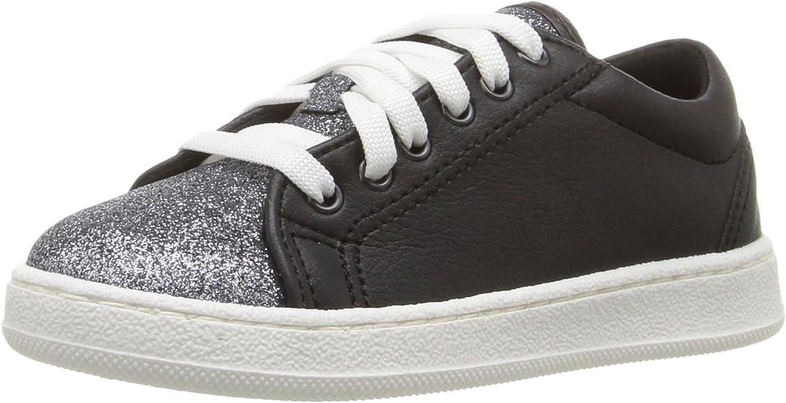 GUESS Girls' Celeste Sneaker, Jet Black