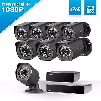 [Full HD 1920 x 1080P] sistema de cámara de seguridad ZMODO? SPOE de