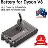 TREE.NB Replacement Battery for Dyson V8 Absolute Dyson V8 Animal Dyson V8 Animal Exclusive, 3500mAh 21.6V
