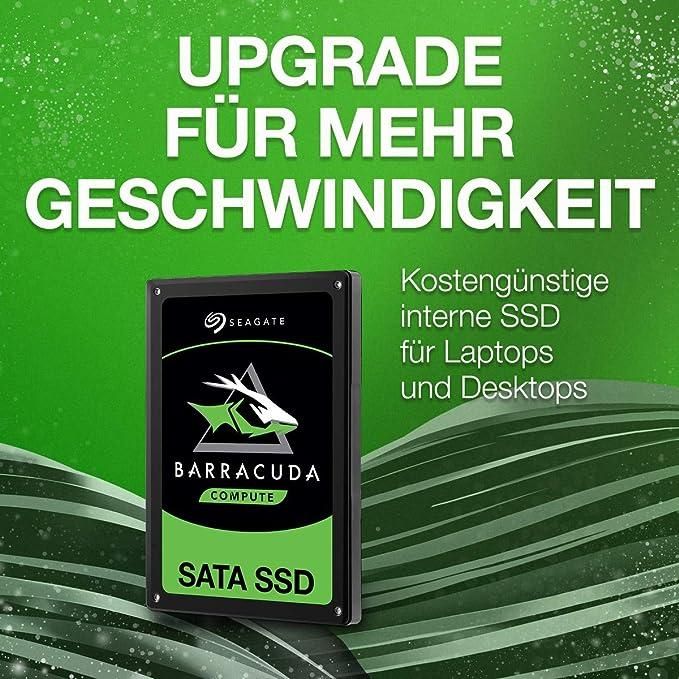 Seagate Barracuda Ssd Interne Sata Ssd 250 Gb 2 5 Computer Zubehör