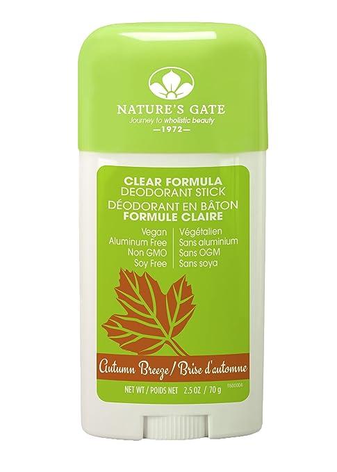 Nature's Gate Deodorant Stick, Autumn Breeze, 2.5 Ounce