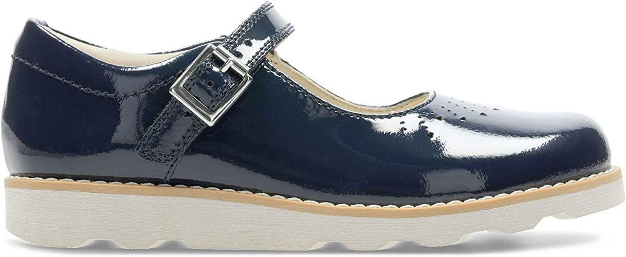Clarks Crown Jump Kid Leather Shoes in