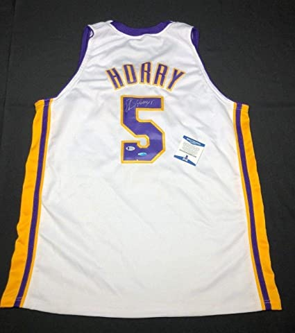 f0d3ac87df4 Robert Horry Autographed Jersey - White BAS - Upper Deck Certified - Autographed  NBA Jerseys