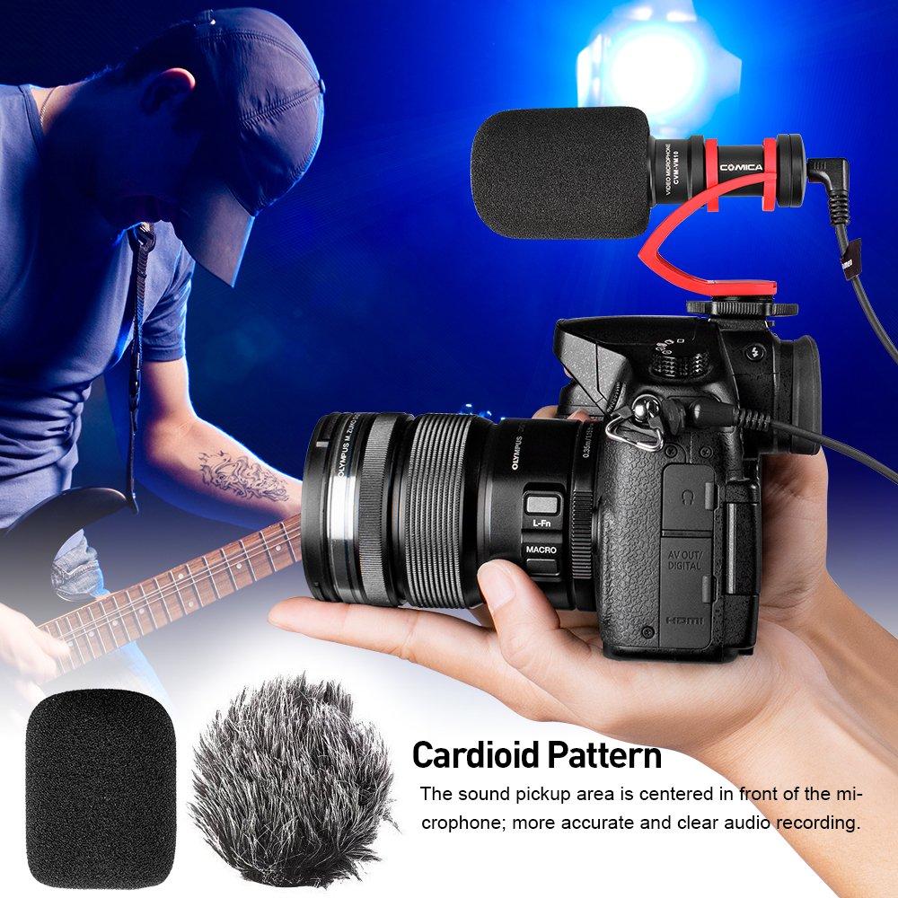 Comica cvm-vm10ii Full Metal compacto en cámara Cardioide Mini ...