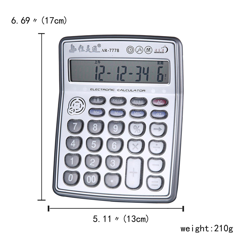 Amazon. Com: diythinker blue hand painted math ruler calculator.