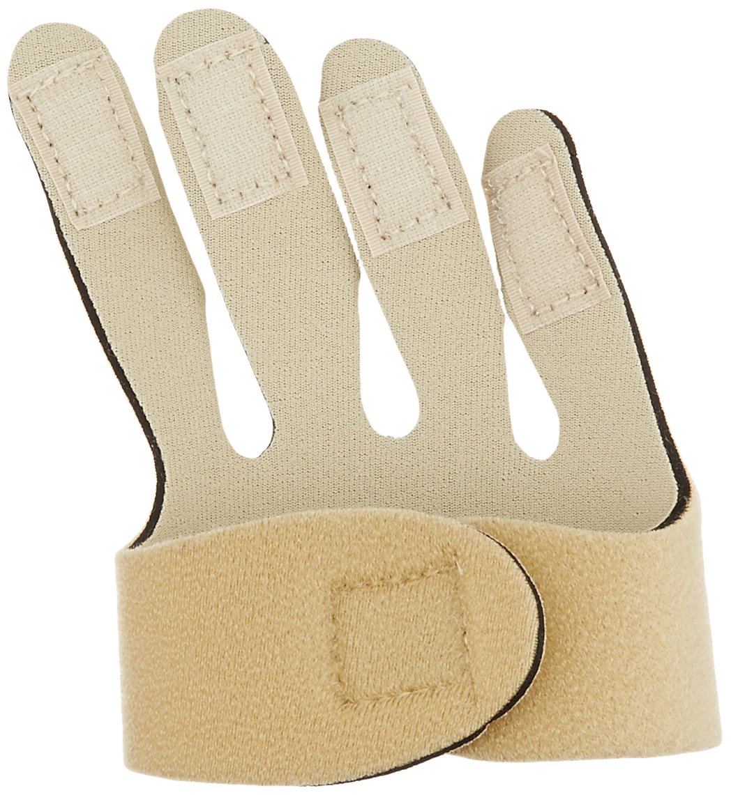 Rolyan Soft Hand-Based Ulnar Deviation Insert for Right Hand, Short Splint Insert for Joint Alignment, Aligns The Knuckle Joints in The Hand and Fingers for Pain Relief and Mobility, Small