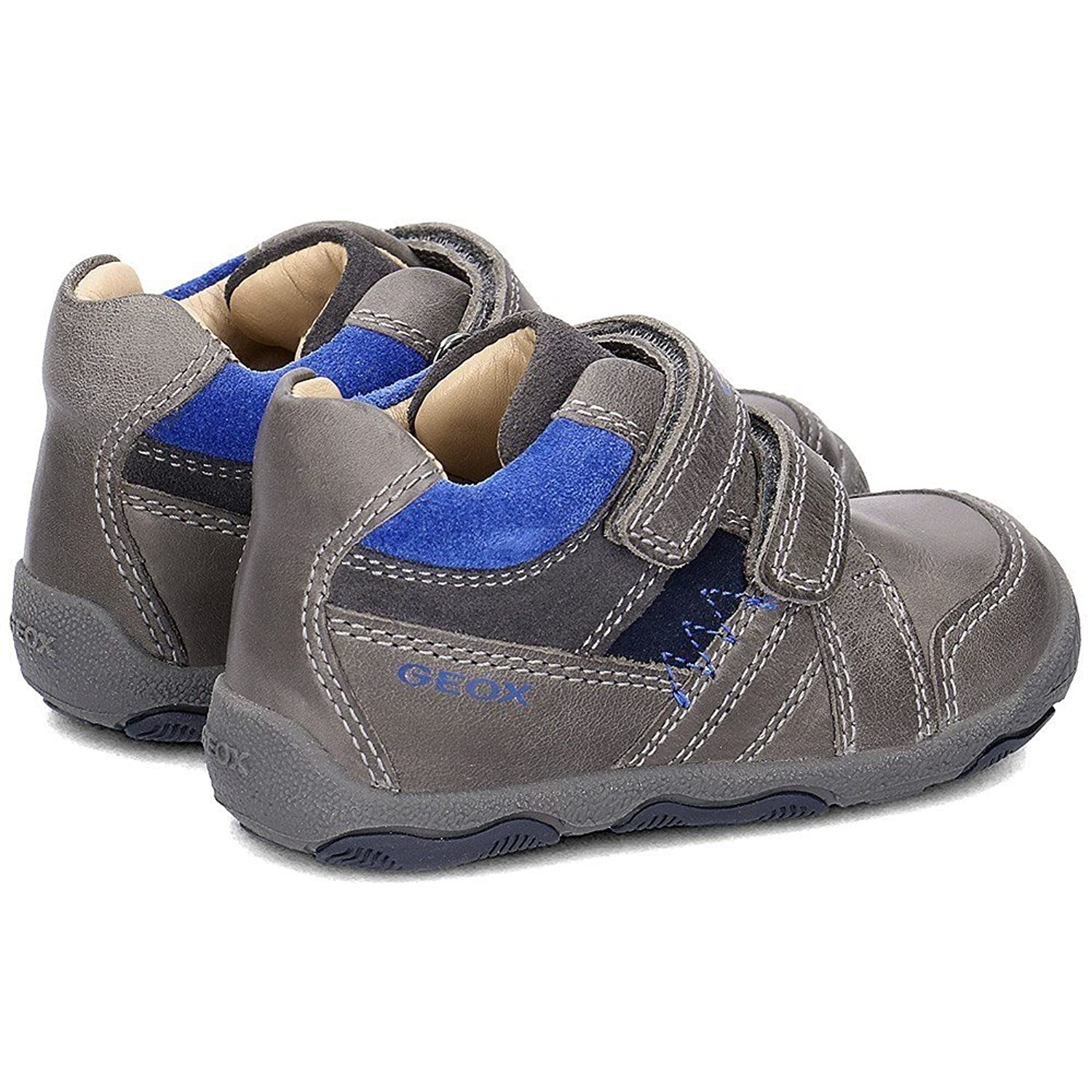Geox Baby New Balu Boy - B640PB0CL22C0069 - Couleur: Gris - Pointure: 24.0 2ttHDE5