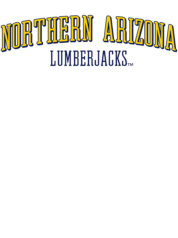RYLNAU07 Womens Oversized Football Spirit Jersey Official NCAA Northern Arizona University Lumberjacks