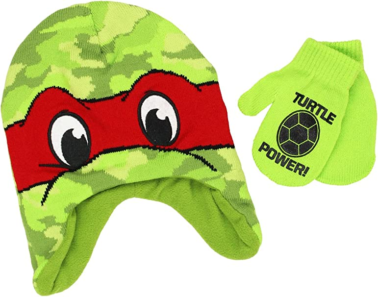 Amazon.com: Teenage Mutant Ninja Turtles los niños Gorro ...