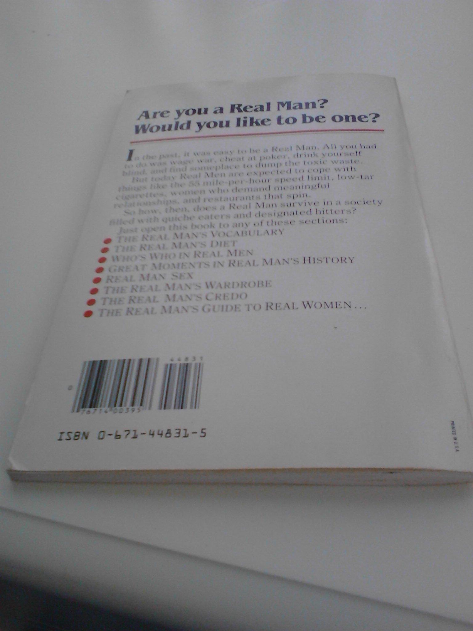 Real Men Dont Eat Quiche Bruce Feirstein Lee Lorenz Delta Tools Wiring Diagram 9780671448318 Books