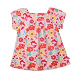 Zutano Little Girls' Secret Garden Short Sleeve