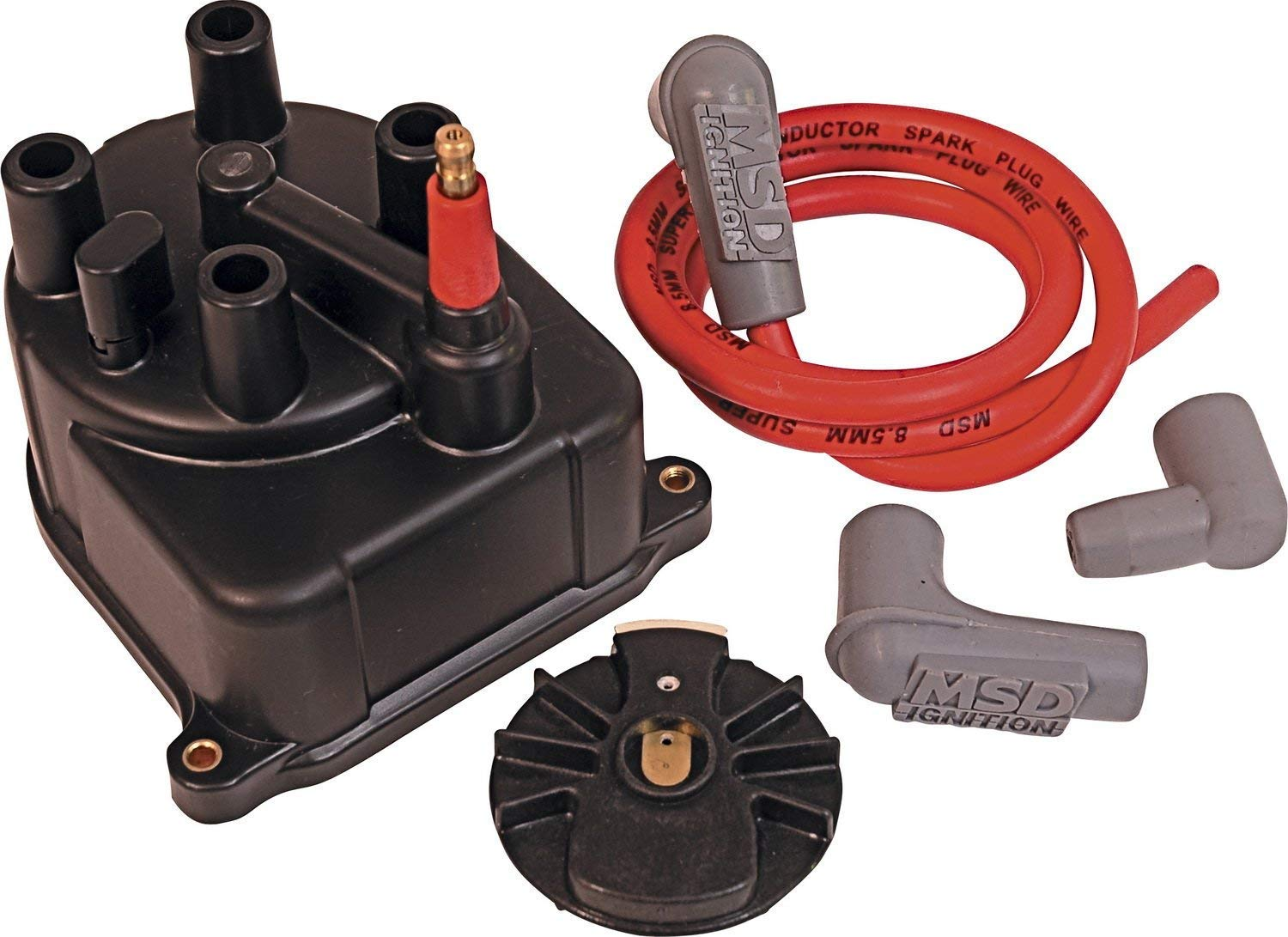 Msd 82923 Modified Distributor Cap And Rotor Kit Automotive 1989 Honda Prelude Coil Wiring
